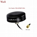 sma male waterproof outdoor use screw mount small high gain active gps antenna
