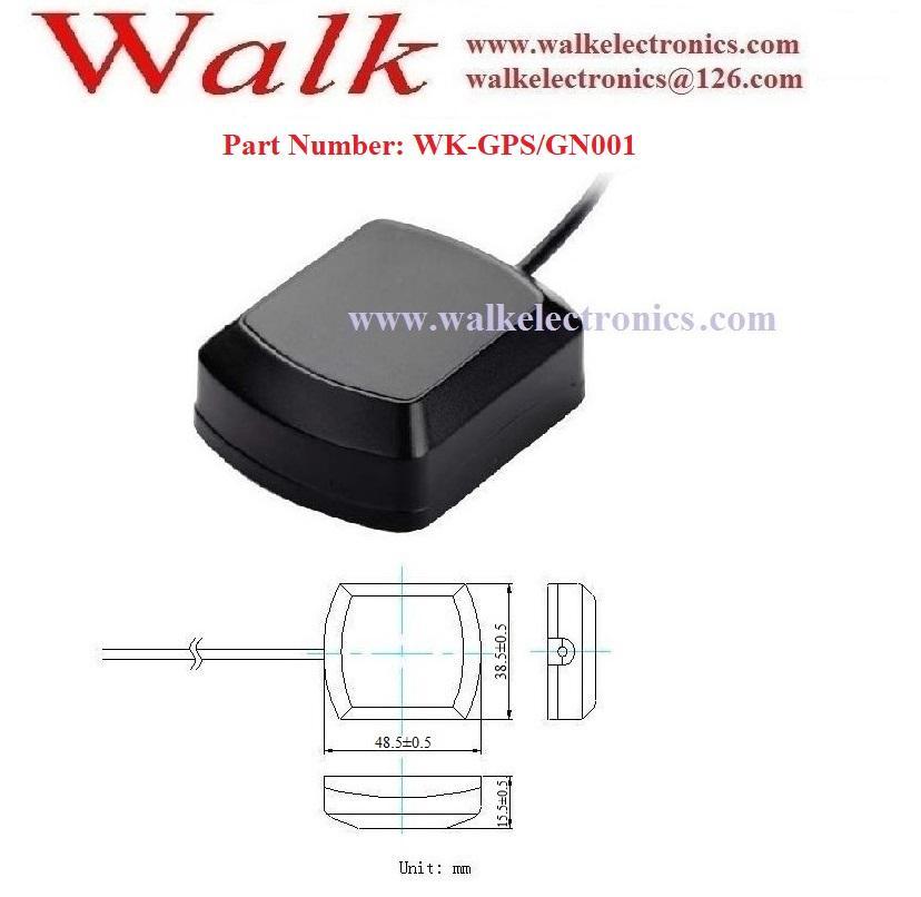 magnetic or adhesive high gain waterproof outdoor use active gps glonass antenna 2