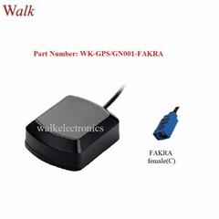 magnetic mount FAKRA female waterproof high gain gps glonass active antenna