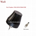 fme female small size waterproof highgain screw mount gps glonass active antenna