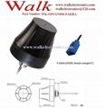 FAKRA female ip67 outdoor screw mount high gain small gps glonass active antenna