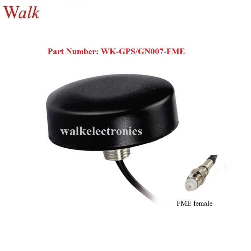 FME female waterproof screw mount small size high gain gps glonass antenna 1