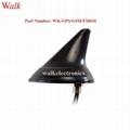 waterproof outdoor use screw mount shark fin GPS gsm fm am combo car antenna