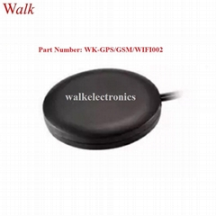 magnet or adhesive mount waterproof outdoor use gps gsm wifi combination antenna