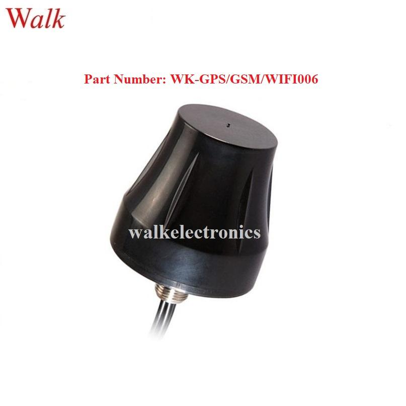 small size screw mount waterproof outdoor use gps gsm 3g wifi combo car antenna 1