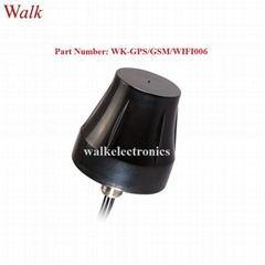 small size screw mount waterproof outdoor use gps gsm 3g wifi combo car antenna