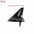 waterproof outdoor use screw mount shark
