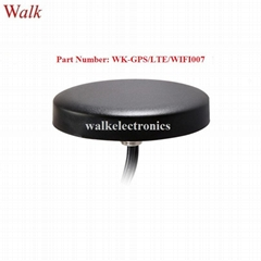 waterproof outdoor use screw mount high gain gps lte 3g 4g WIFI combined antenna (Hot Product - 1*)