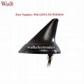 waterproof outdoor screw mount shark fin GPS 3g 4g lte wifi combo car antenna