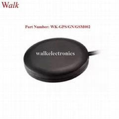 waterproof magnetic or adhesive mount high gain GPS glonass 3G GSM combo antenna