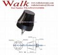 small size waterproof outdoor use screw mount GPS glonass gprs gsm combo antenna