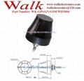 small size waterproof outdoor use screw mount GPS glonass GSM WIFI Combo antenna