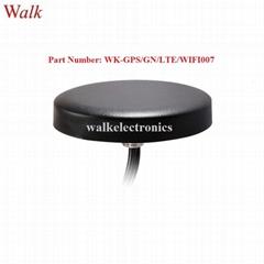 high gain waterproof screw mount external gps glonass 4g lte wifi combo antenna