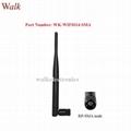 omni directional 5.0dbi high gain RP-SMA male straight elbow 2.4GHz WiFi antenna 1
