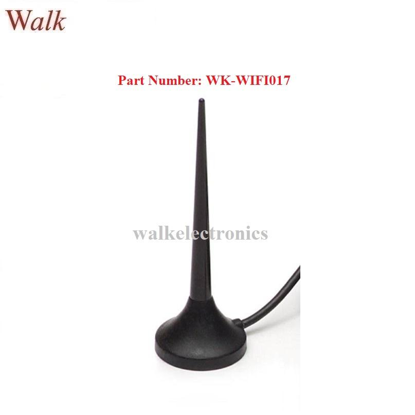 omni directional magnetic mount wifi 2.4GHz zigbee blue tooth whip car antenna 1