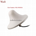 ceiling mount wifi aerial 5dbi indoor use screw roof mount 2.4GHz wifi antenna