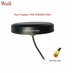 high gain waterproof outdoor use screw mount omni blue tooth 2.4GHz wifi antenna (Hot Product - 1*)