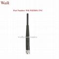 omni directional elbow RP-TNC male 2.4GHz WiFi zigbee rubber stubby tnc antenna