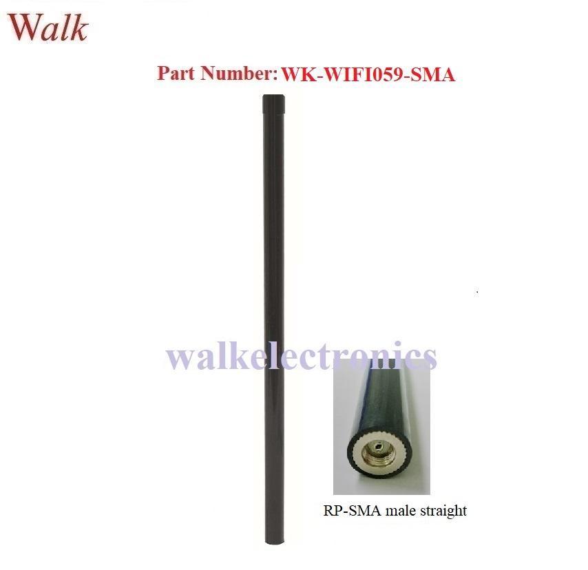 12.0dbi high gain omni directional SMA male wifi 2.4GHz fiber glass antenna 1