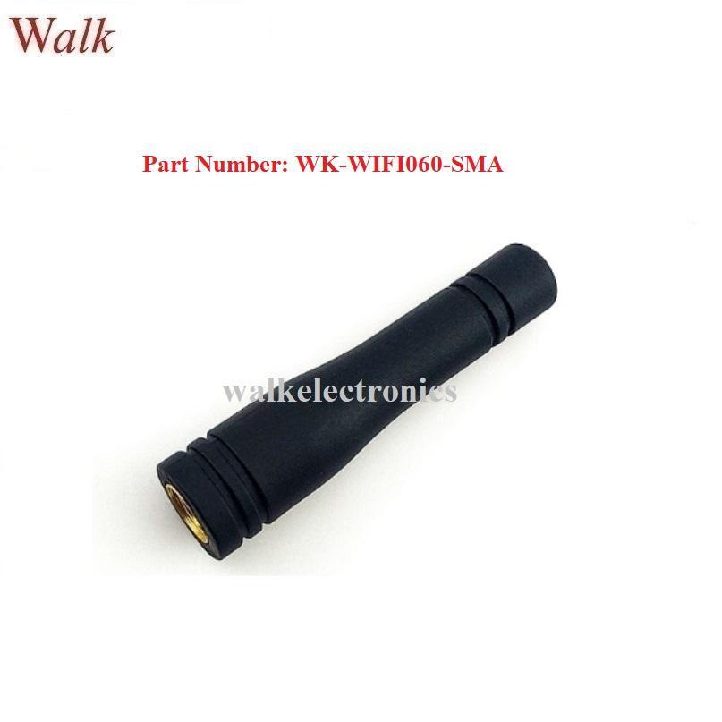 waterproof small RP-SMA male WiFi aerial 2.4GHz Zigbee rubber stubby antenna 1