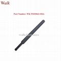 7.0dbi RP-SMA male high gain foldable 2.4GHz wifi rubber stubby antenna