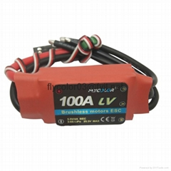 FLYCOLOR brushless speed controller 100A 6S ESC for RC aircraft plane