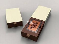 典墨紅木名片盒
