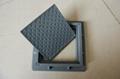 Polymer square manhole cover