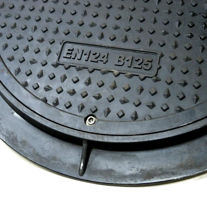 Hot sale composite manhole cover with lock