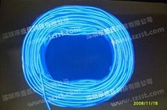 5mm blue el wire