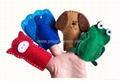 Educational Baby Cartoon Animal Plush Finger Puppets Set Story Telling 2