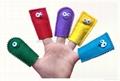 Educational Baby Cartoon Animal Plush Finger Puppets Set Story Telling 3