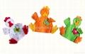 Educational Baby Cartoon Animal Plush Finger Puppets Set Story Telling 4