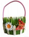High Quality New Felt  Easter Felt Basket Children Gift Promotion Home Decor