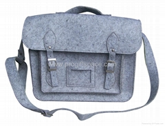 Handmade High Quality Polyester Felt Laptop Bag Computer iPad OEM Manufacturer