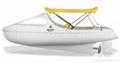 海德龙滚塑塑休闲娱乐脚踏船艇