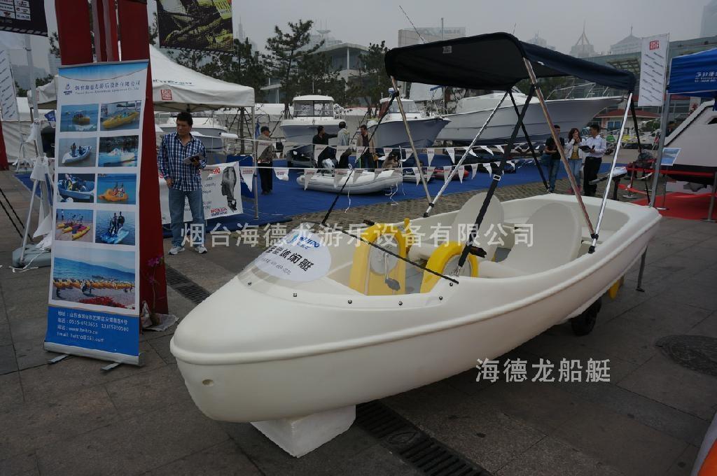 HEITRO海德龍聚乙烯pe休閑釣魚漁船 4