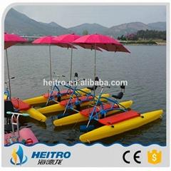 HEITRO【海德龍】聚乙烯哈雷款三人型水上自行車
