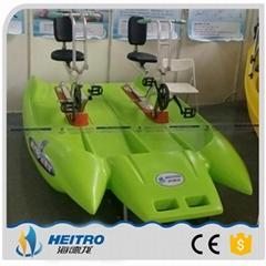 HEITRO海德龍新款聚乙烯雙人水上自行車遊樂設施