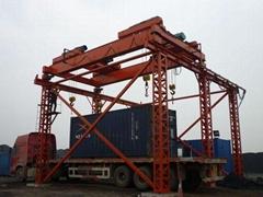 煤场集装箱起重机、固定式集装箱