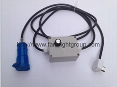 Dimmer for 2k tungsten spot light