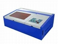 3020 40W CO2 Laser Engraving Machine laser stamp cutter, Mini 40W 2030 CNC laser