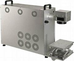 30/20W Portable Fiber Laser Marking Machine 20W Mini fiber laser marker