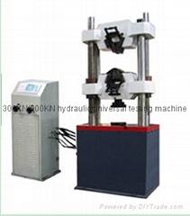 digital display hydraulic universal testing machine