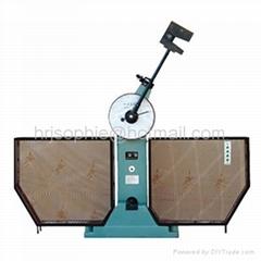 semi-automatic pendulum impact testing machine
