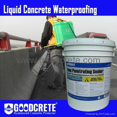Liquid crystalline concrete waterproofing gc