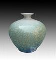 结晶釉陶瓷花瓶