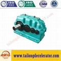 ZSY Hard gear face cylindrical gear speed reducer