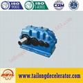 ZSY Hard gear face cylindrical gear speed reducer 3