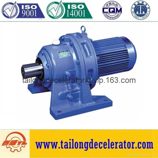 BWD  BWY series double-cycloid horizontal gear reducer 4